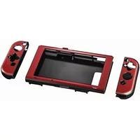 Produktbild 00054665 Hardcover für Nintendo Switch 3-teilig (Metallisch, Rot)