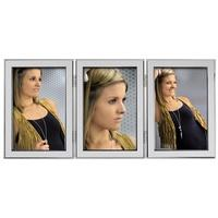 Produktbild Hama Porträtrahmen Philadelphia, 3x 13x18 cm silberfarben