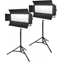 Produktbild Bresser LED Foto-Video SET 2x Lg-1200 72W/11.800Lux