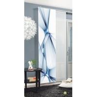 Produktbild Schiebevorhang Franklin 87188-0706 blau, Dekostoff, blickdicht, 245x60cm