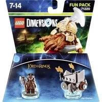 Produktbild LEGO LEGO® Dimensions Fun Pack Lord of the Rings Gimli Nintendo Wii U, PlayStation 4, PlayStation 3