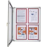 Produktbild magnetoplan Schaukasten SP 6 x DIN A4 Innenbereich