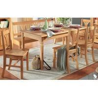 Produktbild Essgruppe Esszimmer Küche Tischgruppe Esstisch Stühle Bank Fichte massiv