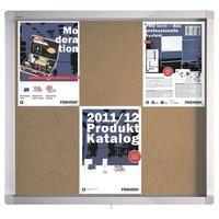 Produktbild FRANKEN Schaukasten für den Innen- und Außenbereich ECO SK6KE silberfarben