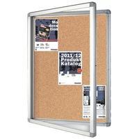 Produktbild FRANKEN Schaukasten für den Innen- und Außenbereich ECO SK9KE silberfarben