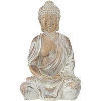 Produktbild Design Buddha Figur Schlaf Gäste Zimmer Skulptur Kunstharz GOLD Asia Feng Shui Deko Boltze 1016128