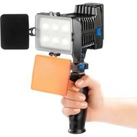 Produktbild Profi LED-Videoleuchte, regelbare Lichtintensität, Akku, 15 W, 1070 lm