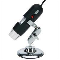 Produktbild Safe 9753 Digital Mikroskope II 20 - 800 fach Vergrößerung + Gelenkstativ + 8 LED - USB 2.0 Software