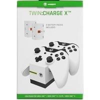 Produktbild Snakebyte TWIN:CHARGE X, Ladestation für 2 Xbox One-Controller, inkl. 2 Akkus, weiß