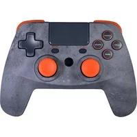 Produktbild Snakebyte Game:Pad 4 S Wireless Rock Kabelloser Controller für PS4 Grau/Orange SB914522