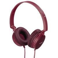 Produktbild 00132625 HED2207RD On-Ear-Kopfhörer  (Rot)