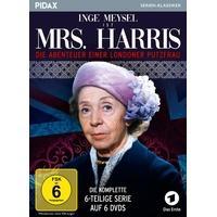 Produktbild Mrs. Harris - Die Abenteuer einer Londoner Putzfrau / Die komplette 6-teilige Serie mit Inge Meysel  (Pidax Serienklassiker)  [6 DVDs]