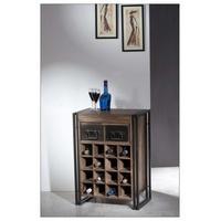 Produktbild Weinregal Pontem mit 16 Flaschenablagen Sheeshamholz