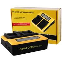 Produktbild PATONA Double Charger LCD USB für Canon LP-E12