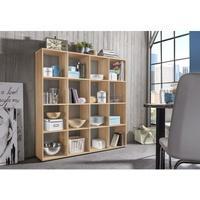 Produktbild Wilmes Raumteiler mit 16 Fächern, Buche Dekor Melamin