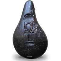Produktbild Stein der Harmonie | Quantenstein Onyxschwarz, 22.6g, Quantenkraftstein, Unikat