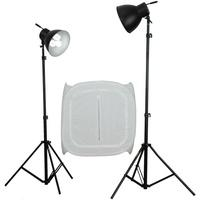 Produktbild walimex Studioset Daylight 600/600 mit Lichtwürfel
