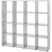 Produktbild Regal Maik - Würfelsystem - 16 Fächer - Beton-Grau