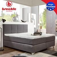 Produktbild Breckle Boxspringbett Arga Preime 200x200 cm inkl. Topper 3700 (Gelschaum)