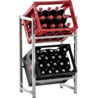 Produktbild CLP Getränkekistenständer LENNERT I Platzsparender robuster Kistenständer für Getränkekisten I Verschiedene Ausführungen