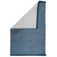 Produktbild Dots Pet Teppich Blau/Ecru 140 x 200 cm Liv Interior