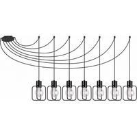 Produktbild Hängelampe Pendelleuchte 7-flammig E27 Ambientebeleuchtung Zimmerlampe