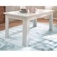 Produktbild Esstisch Baxter in weiß Landhaus Küchentisch ausziehbar 160 / 200 x 90 cm