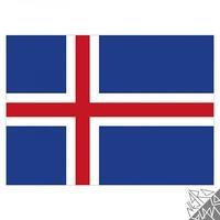 Produktbild Flagge Island 90x150cm mit Befestigungsösen