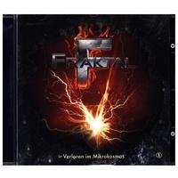 Produktbild Fraktal - Verloren im Mikrokosmos 1 Audio-CD als Hörbuch CD von Peter Lerf