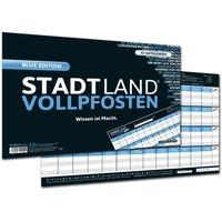 Produktbild Stadt Land Vollpfosten® - Wissen ist Macht, BLUE EDITION, Offizielle Erweiterung des Klassikers, 50 Blätter
