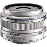 Produktbild Olympus M.ZUIKO DIGITAL 17 mm Weitwinkelobjektiv silberfarben
