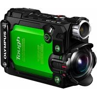 Produktbild Olympus Actioncam TG-Tracker 4K (Ultra-HD) Camcorder, Videoleuchte, GPS, WLAN, Staubfest grün