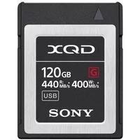 Produktbild Sony XQD MemoryCard 120GB G-Serie (440/400MB/s)