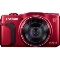 Produktbild Canon PowerShot SX710 HS Kompakt Kamera, 20,3 Megapixel, 30x opt. Zoom, 7,5 cm (3 Zoll) Display rot