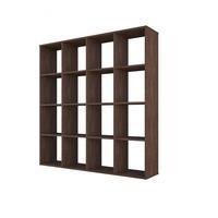 Produktbild Polini Home Raumteiler Bücherregal Regal vintage 16 Fach