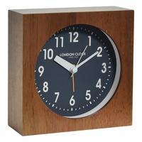 Produktbild London Clock -Nussbaum 11cm- 03167