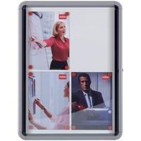 Produktbild Schaukasten Innen magnetisch Rückwand, 4xA4, Weiß
