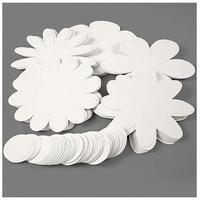 Produktbild Blumen, D: 20 cm, 400 g, 100 Stck., Weiß