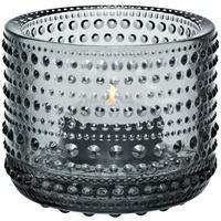 Produktbild Iittala Windlicht - 64 mm - Grau Kastehelmi