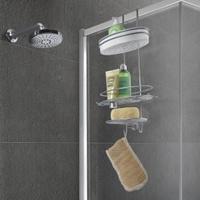 Produktbild Metaltex Orbit Duschregal mit Kleinteile-Ablage, 3 Etagen, Rostfreies Duschregal mit exklusiver Chrometherm®-Beschichtung, Maße: 29 x 13 x 58 cm