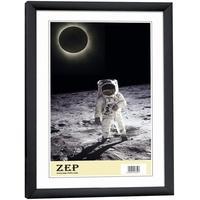 Produktbild ZEP Bilderrahmen New Easy 10x15 Kunststoff Rahmen KB1 schwarz