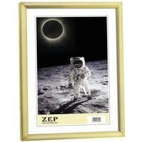 Produktbild ZEP Bilderrahmen New Easy 10x15 Kunststoff Rahmen KG1 goldfarben