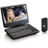 Produktbild DVP-901BK tragbarer DVD-Player 22,5cm/9 TFT 16:9 USB 12V (Schwarz) (Versandkostenfrei)