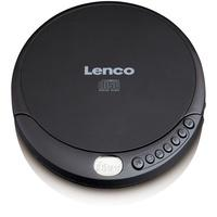 Produktbild CD-010 tragbarer CD-Player LCD-Anzeige Akku-/Strom-Betrieb (Schwarz)