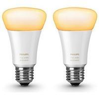 Produktbild Philips Hue White Ambiance LED E27 9,5W - Doppelpack