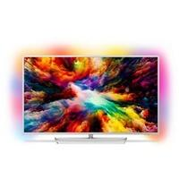 "Produktbild Smart TV Philips 50PUS7363 50"" 4K Ultra HD LED WIFI Silberfarben"