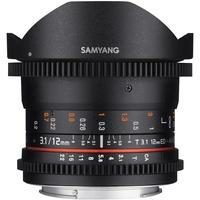 Produktbild SAMYANG 13012T3.1S 12 mm T3.1 VDSLR ED AS NCS Fish-Eye Objektiv für An