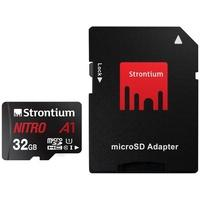 Produktbild Strontium MicroSD-Speicherkarte A1 mit SD Karten Adapter