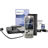 Produktbild Philips Digital Pocket Memo Starter Kit DPM 7700 Digitales Diktiergerät Silber inkl. Tasche, inkl.