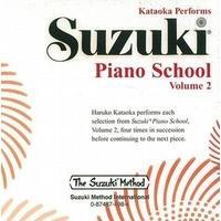 Produktbild Suzuki Piano School Piano CD 2 (Performed by Haruko Kataoka) (1993)